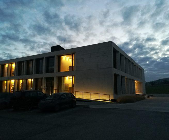 Leichtbeton Massivbau Sicht-beton